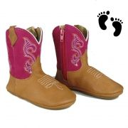 Bota Country Baby Confort Rosa