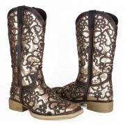Bota Texana Feminina Bico Quadrado Jacomo 4581/ufa