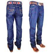 Calça Jeans Masculina Azul 100% Algodão Dock's 2384
