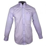 Camisa Country Masculina Wrangler Confort Lilás