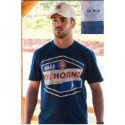 Camiseta Country Masculina Ox Horns Marinho