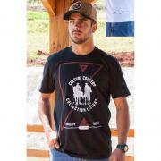 CAMISETA COUNTRY MASCULINA OX HORNS PRETA