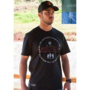Camiseta Country Masculina Ox Horns Preta America