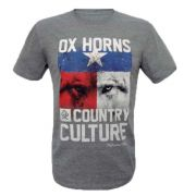 Camiseta Ox Horns Masculina Country Culture 1174