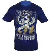 Camiseta Team Roping Masculina Ox Horns