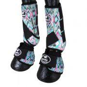 Caneleira com Boleteira e Clochê Ventrix Boots Horse Colors