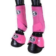 Caneleira com Boleteira e Clochê Ventrix Boots Horse Rosa