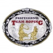 Fivela Professional Team Roping