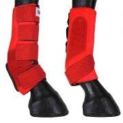 Kit Caneleira Com Skid Boot Vermelha