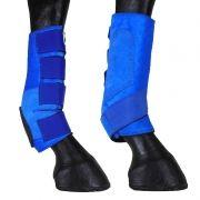Kit Caneleira Com Skid Boot Azul