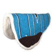Manta Para Cavalo de Tambor Importada Azul Turquesa