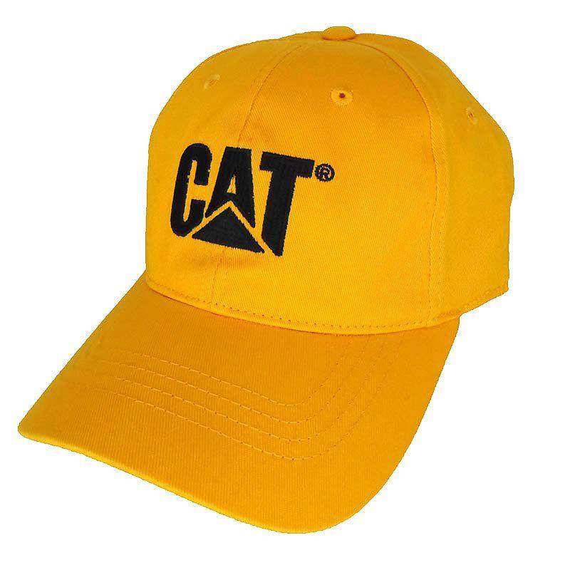 Boné Caterpillar Amarelo com Elástico - Show Horse 85740fb5522