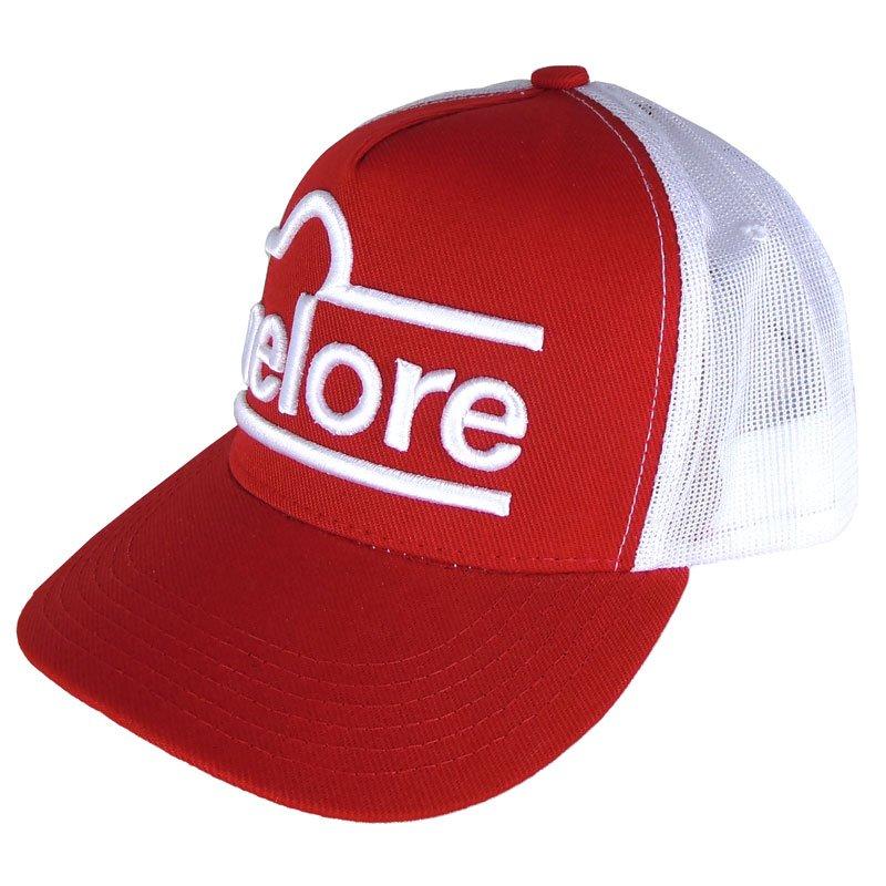 Boné Country Nelore Vermelho e Branco - Show Horse c03ab90c823