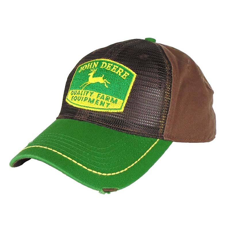 Boné John Deere Importado Marrom e Verde - Show Horse ... 2c866d6778b