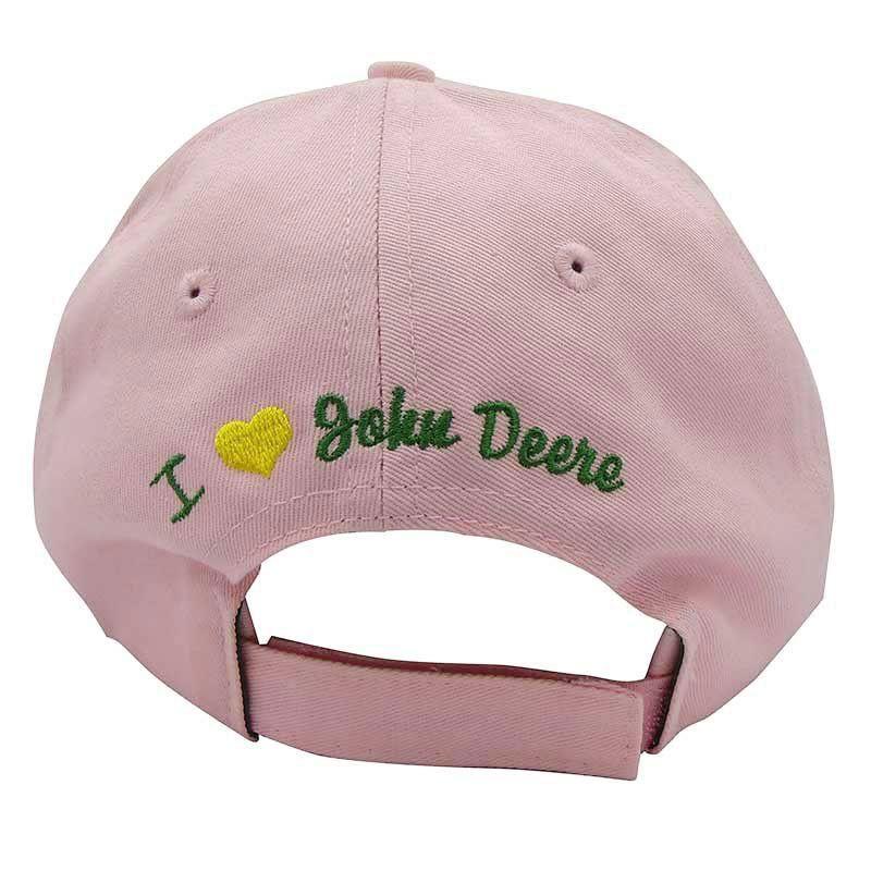 Boné John Deere Importado Rosa