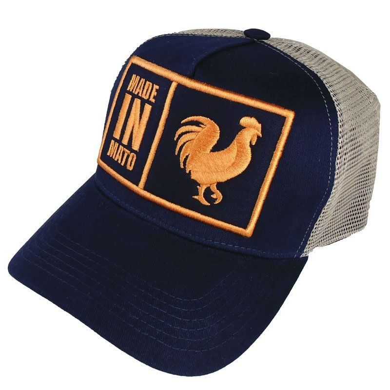 Boné Made In Mato Trucker Marinho