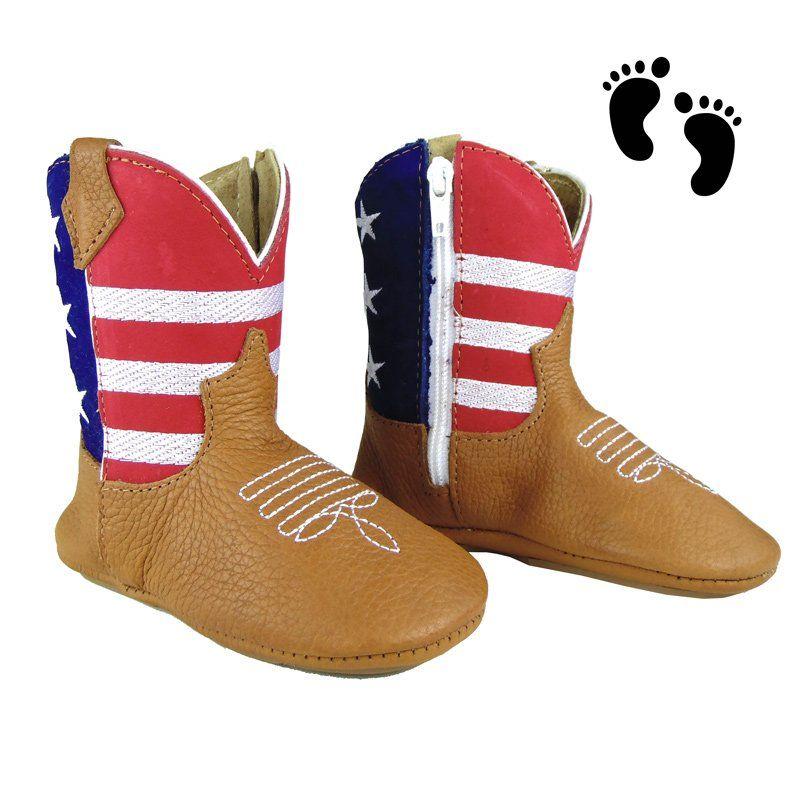 Bota Country Baby Comfort Americana
