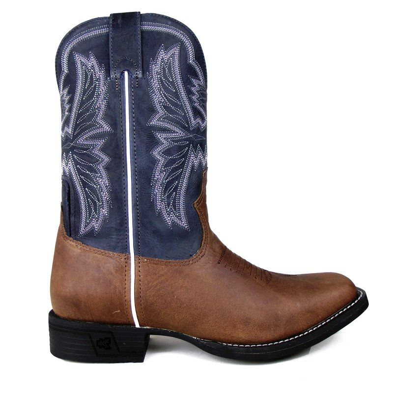 Bota Country Masculina Goyazes Dallas Tabaco