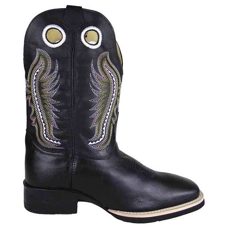 Bota Texana Show Horse Preta