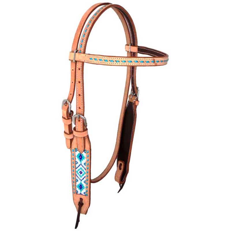 Cabeçada com Miçangas para Cavalo AK-812