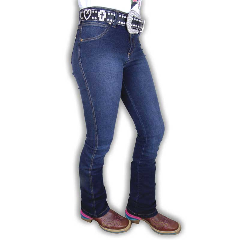 Calça Country Feminina Jeans Boot Cut 8668