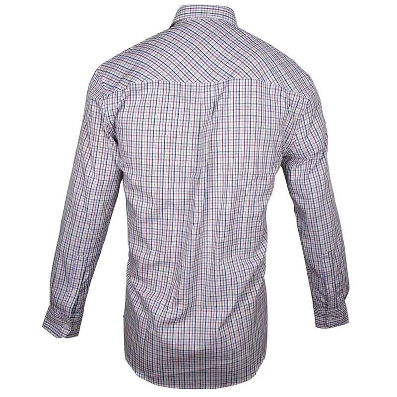 Camisa Country Masculina Wrangler Confort Xadrez Bicolor