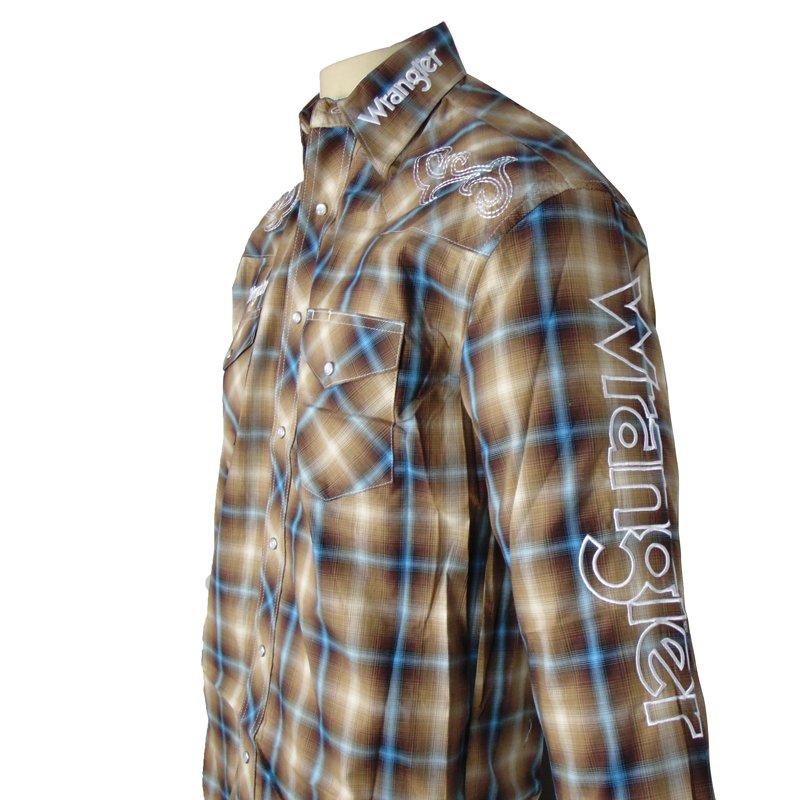 Camisa Country Masculina Wrangler Xadrez MP1301