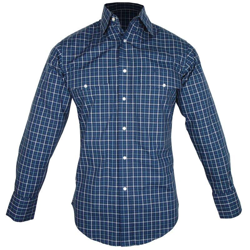 Camisa Country Masculina Wrangler Xadrez MWR244