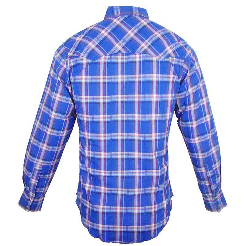 Camisa Country Masculina Wrangler Xadrez MVG112M
