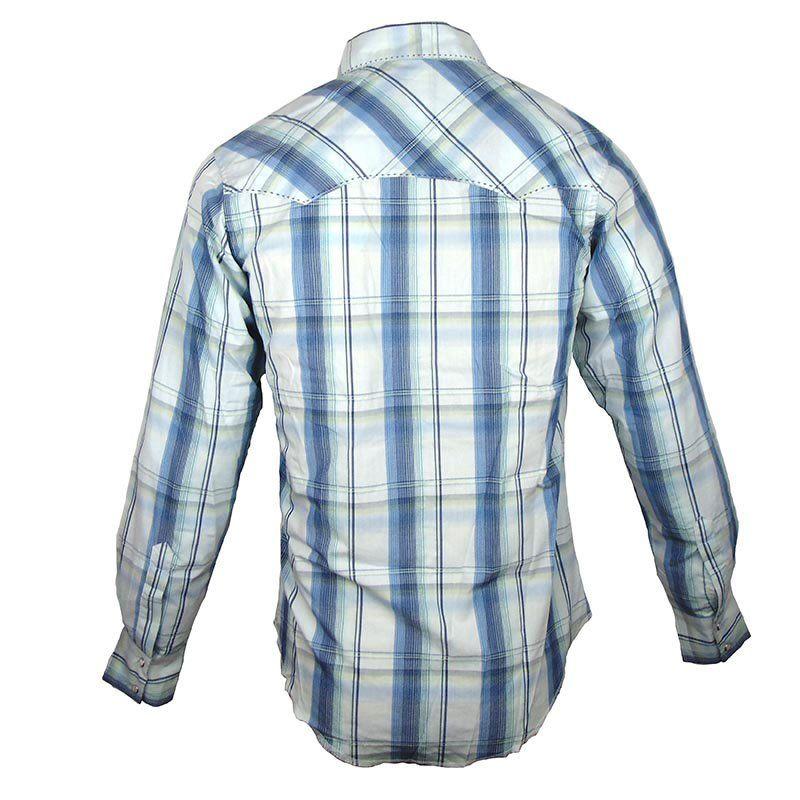 Camisa Country Masculina Wrangler Xadrez MVG113M