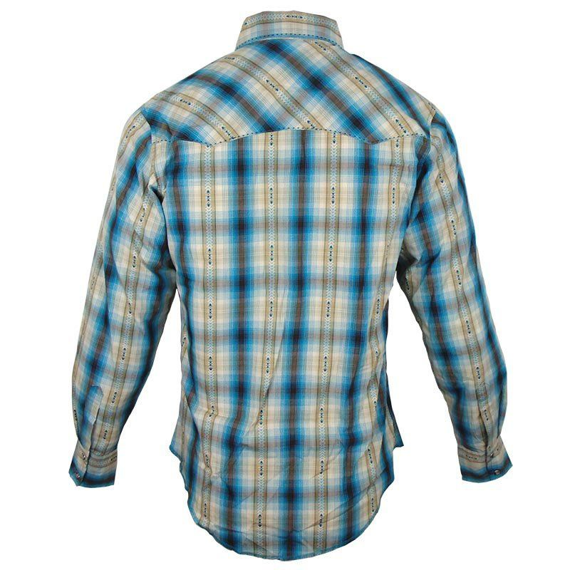 Camisa Country Masculina Wrangler Xadrez MVG146M