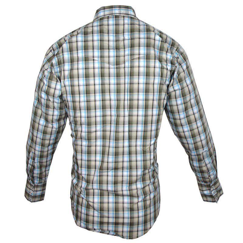 Camisa Country Masculina Wrangler Xadrez MWR195M