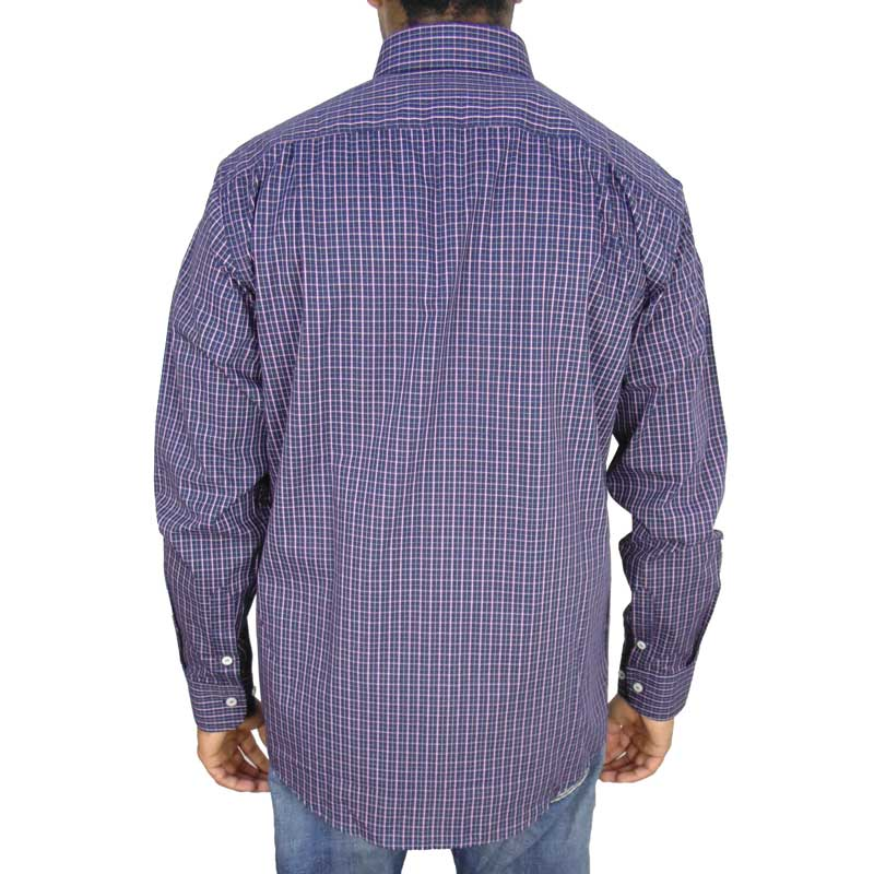 Camisa Country Masculina Xadrez Ox Horns 9126