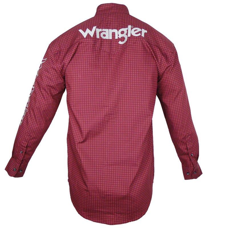 Camisa Country Wrangler Bordada MP2331