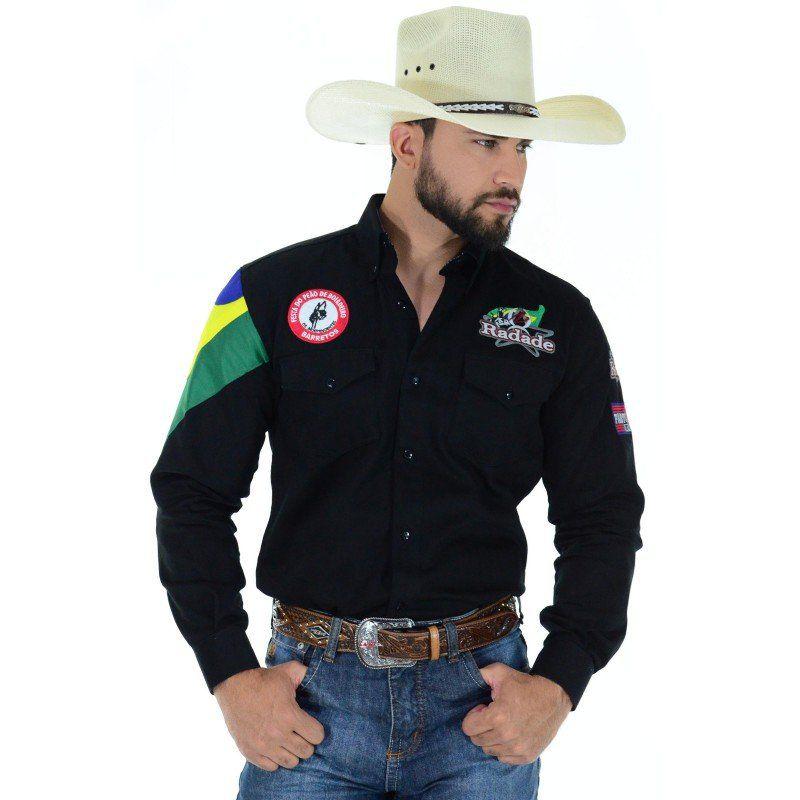 Camisa Masculina Radade Barretos - Show Horse 609dccb8c83