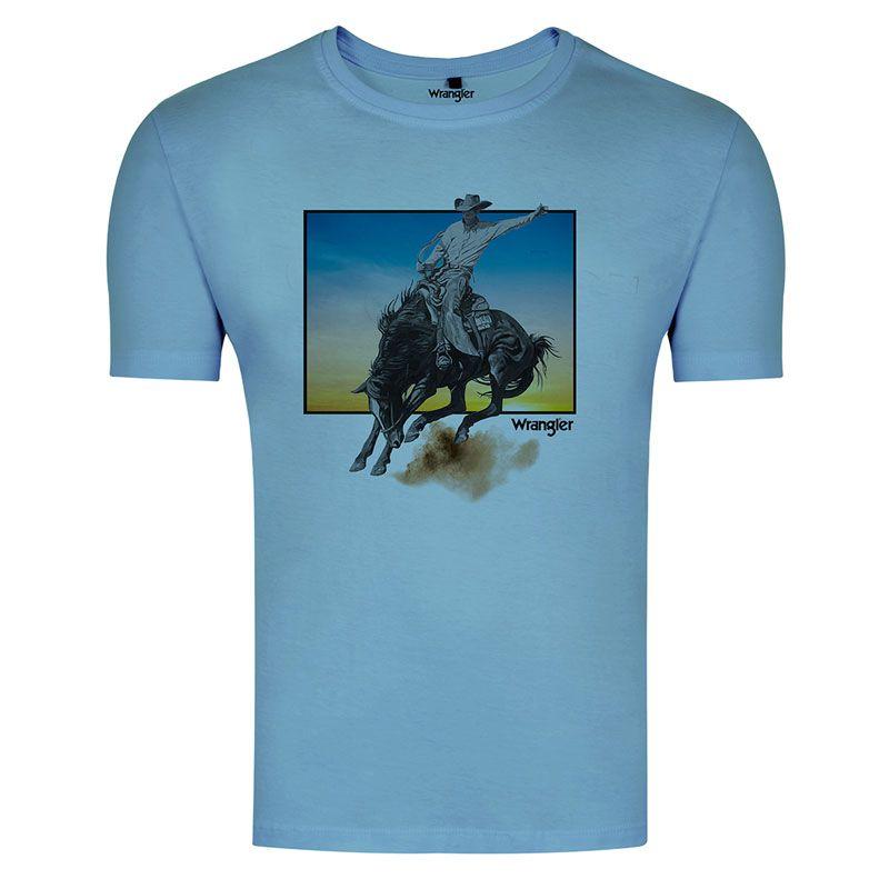 Camiseta Country Masculina Wrangler WM8057A