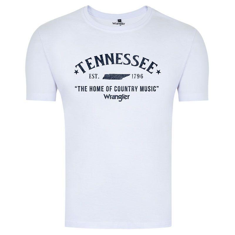 Camiseta Country Masculina Wrangler WM8063BR