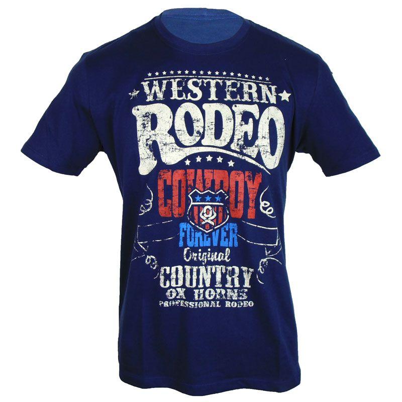 Camiseta Country Rodeio Ox Horns - Show Horse 42040a40e92