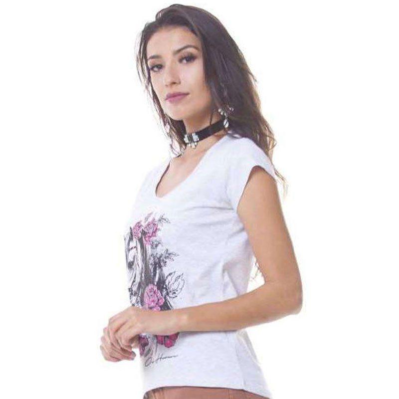 Camiseta Feminina Ox Horns  6044