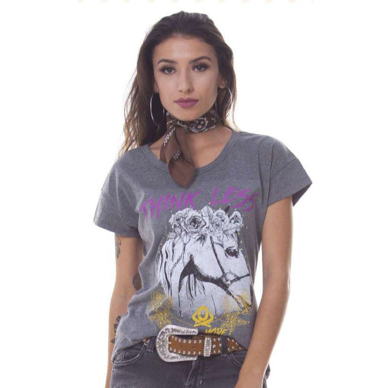 Camiseta Feminina Ox Horns 6038