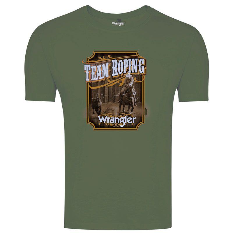 Camiseta Team Roping Masculina Wrangler