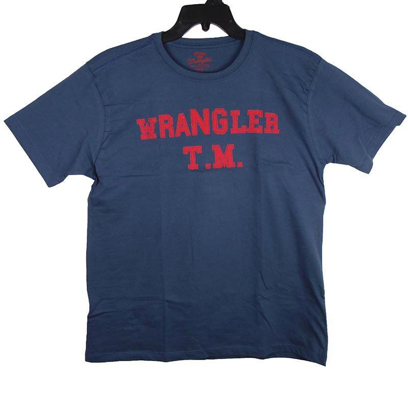 Camiseta Wrangler TM Masculina Azul Marinho