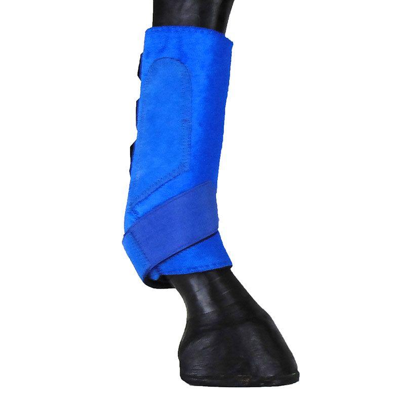 Caneleira Para Cavalo Show Horse Azul Level 2