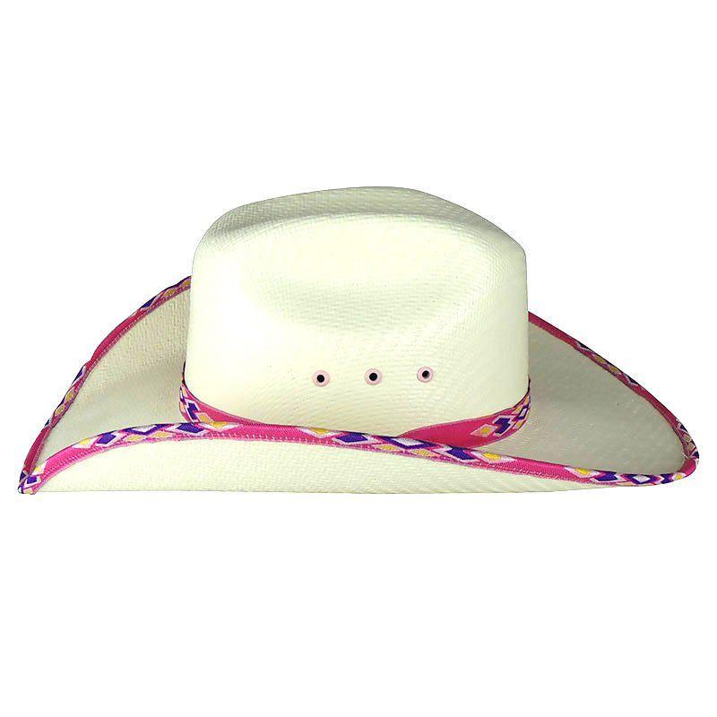 Chapéu Country Infantil Lone Star Rosa Pink