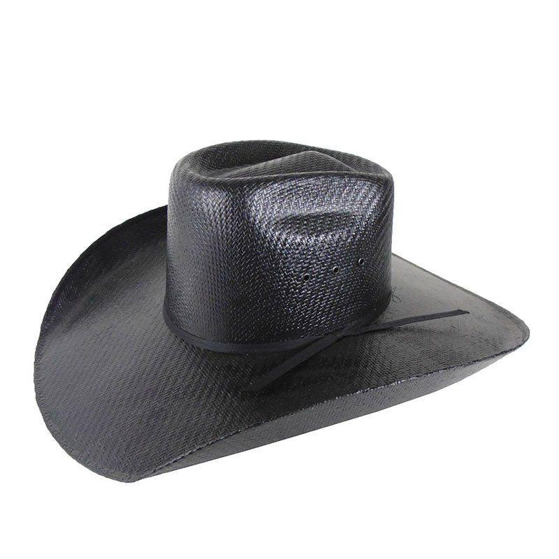 Chapéu Country Lone Star Hats Black Bulls