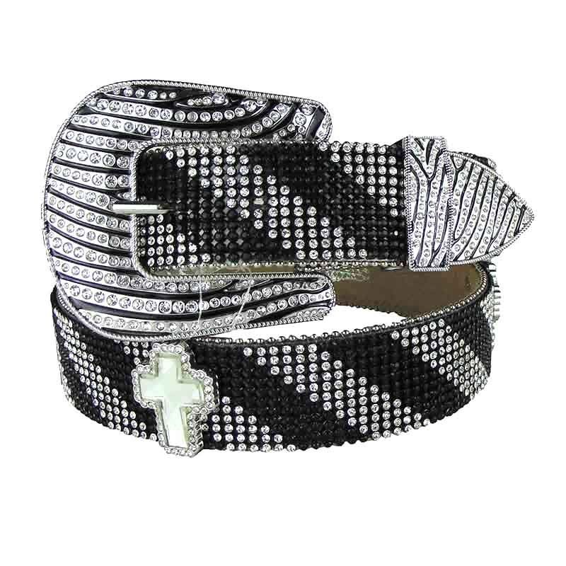 Cinto Country Feminino Nocona Cross Zebra