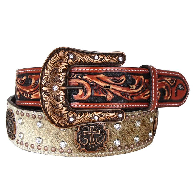 Cinto Country Masculino Arizona Belts de Pelo
