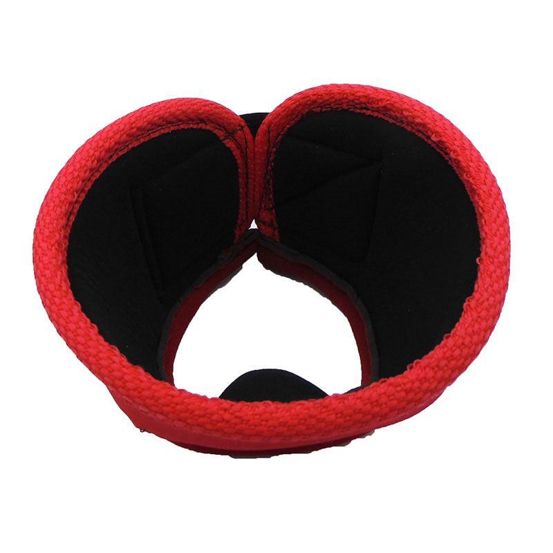 Cloche Protetor de Casco de Neoprene Vermelho