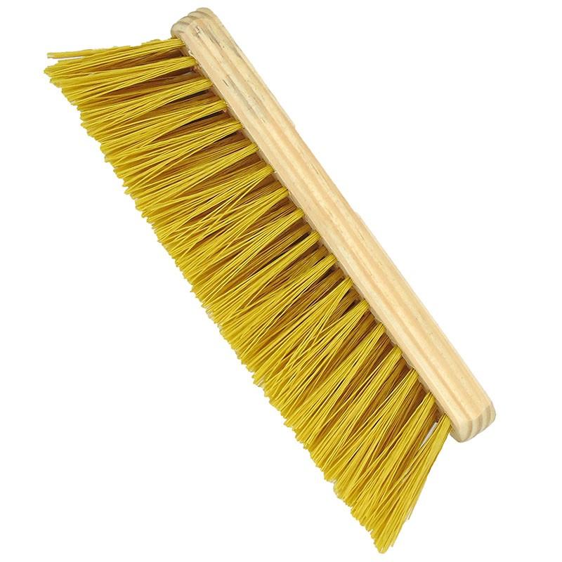 Escova para Cavalo com Cerdas Rígidas Amarela