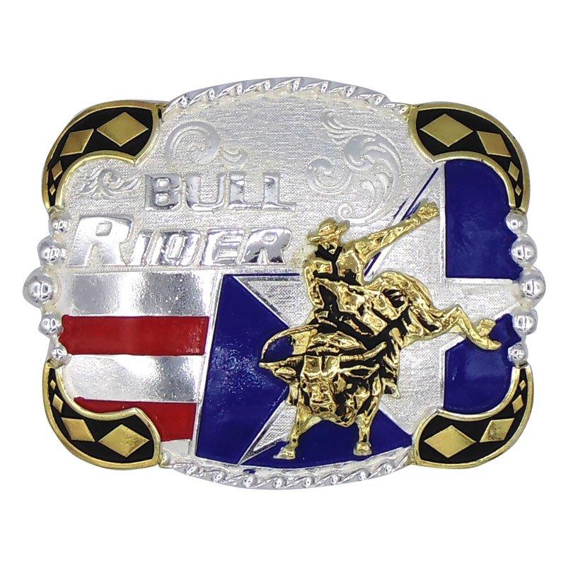 Fivela American Bull Rider